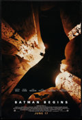 "Movie Posters:Action, Batman Begins Lot (Warner Brothers, 2005). One Sheets (2) (27"" X 40"") SS. Action.. ... (Total: 2 Items)"