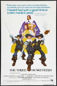"""The Three Musketeers Lot (20th Century Fox, 1974). One Sheets (4) (27"""" X 41""""). Swashbuckler. ... (Total: 4 Ite..."""