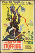 "Movie Posters:Science Fiction, The Day of the Triffids (Allied Artists, 1962). Poster (40"" X 60"")and Mexican Lobby Card (12.5"" X 16.25""). Science Fiction....(Total: 2 Items)"