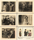 """Movie Posters:Crime, Outside the Law (Universal, 1920). Title Lobby Card and Lobby Cards(5) (11"""" X 14"""").. ... (Total: 6 Items)"""