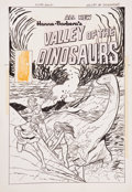 Original Comic Art:Covers, Fred Himes Valley of the Dinosaurs #5 Cover Original Art(Charlton, 1975). ...