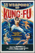 "Movie Posters:Action, 18 Weapons of Kung Fu Lot (L-T Films, 1982). One Sheets (5) (27"" X 41"") Flat-folded. Action.. ... (Total: 5 Items)"