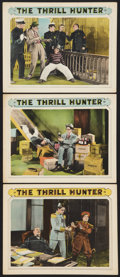"Movie Posters:Adventure, The Thrill Hunter (Columbia, 1926). Lobby Cards (3) (11"" X 14"").Adventure.. ... (Total: 3 Items)"