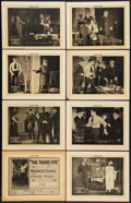 """The Third Eye (Pathé, 1920). Lobby Card Set of 8 (11"""" X 14"""") Episode 14 -- """"At Bay."""" Serial..."""