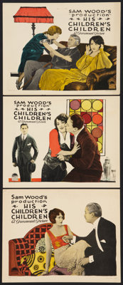 """His Children's Children (Paramount, 1923). Lobby Cards (3) (11"""" X 14""""). Drama. ... (Total: 3 Items)"""