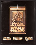 """Movie Posters:Science Fiction, The Star Wars Trilogy (20th Century Fox, R-1997). Autographed Press Kit (Multiple Items, 9"""" X 11"""") Photos (8). Science Ficti..."""