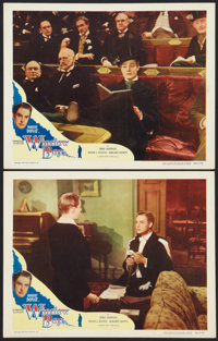 """The Winslow Boy (Eagle Lion, 1950). Lobby Cards (2) (11"""" X 14"""") and Pressbook (10"""" X 13.5"""", Multiple..."""