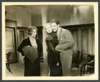 "Robert Donat and Madeleine Carroll in ""The 39 Steps"" (Gaumont, 1935). Photos (9) (8"" X 10""). Hitchco..."