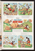 "Movie Posters:Animated, Mickey Mouse in ""Mickey's Garden"" (Good Housekeeping, 1935).Magazine (250 Pages). Animated.. ..."