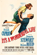 "Movie Posters:Drama, It's a Wonderful Life (RKO, 1946). One Sheet (27"" X 41"").. ..."
