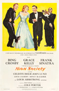 """Movie Posters:Musical, High Society (MGM, 1956). One Sheet (27"""" X 41"""").. ..."""