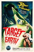 "Movie Posters:Science Fiction, Target Earth (Allied Artists, 1954). One Sheet (27"" X 41"").. ..."