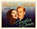 "Movie Posters:Drama, Another Dawn (Warner Brothers, 1937). Half Sheet (22"" X 28"").. ..."