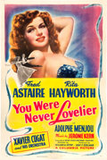 "Movie Posters:Musical, You Were Never Lovelier (Columbia, 1942). One Sheet (27"" X 41"") Style B.. ..."