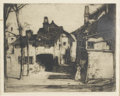 Prints:European Modern, SIR DAVID YOUNG CAMERON (Scottish, 1865-1945). La Roche,circa 1905. Etching and drypoint, Reider no. 336. 7in. x 8-3/4i...(Total: 1 Item)