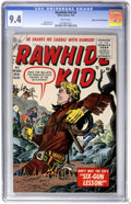 Silver Age (1956-1969):Western, Rawhide Kid #6 Mile High pedigree (Marvel, 1956) CGC NM 9.4 White pages....