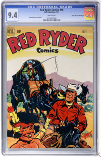 Red Ryder Comics #96 Mile High pedigree (Dell, 1951) CGC NM 9.4 White pages