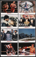 "Movie Posters:Sports, Rocky IV (United Artists, 1985). Lobby Card Set of 8 (11"" X 14""). Sports Action. ... (Total: 8 Items)"