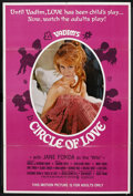 "Movie Posters:Sexploitation, Circle of Love (Continental, 1965). One Sheet (27"" X 41"").Sexploitation. ..."