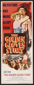 "Movie Posters:Sports, The Golden Gloves Story (Eagle Lion, 1950). Insert (14"" X 36""). Sports. Starring James Dunn, Kevin O'Morrison, Kay Westfall ..."