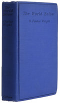Books:First Editions, S. Fowler Wright: The World Below. (London: W. Collins Sons& Co Ltd, 1929), first edition, 314 pages, bound in blue clo...