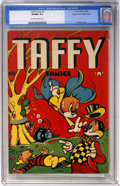 Golden Age (1938-1955):Funny Animal, Taffy Comics #1 Mile High pedigree (Rural Home, 1945) CGC VF/NM 9.0 Off-white to white pages....