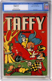 Taffy Comics #1 Mile High pedigree (Rural Home, 1945) CGC VF/NM 9.0 Off-white to white pages