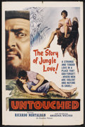 "Movie Posters:Adventure, Untouched (Excelsior, 1956). One Sheet (27"" X 41""). Action. ..."
