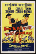 "Movie Posters:Comedy, How to Be Very, Very Popular (20th Century Fox, 1955). One Sheet (27"" X 41""). Comedy. Starring Betty Grable, Sheree North, R..."