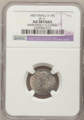 Bust Dimes: , 1820 10C Small 0--Improperly Cleaned--NGC Details. AU. JR-11. PCGSPopulation (0/7). Numismedia Wsl. P...