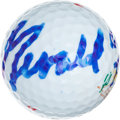 Golf Collectibles:Autographs, Gerald Ford Signed Golf Ball....