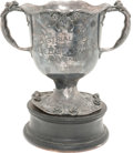 Baseball Collectibles:Others, 1883 Industrial League Baseball Ornate Trophy....