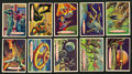 Non-Sport Cards:Sets, 1958 Topps Space - Target Moon Complete Set (88). ...