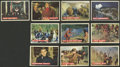 Non-Sport Cards:Sets, 1956 Topps Davy Crockett-Orange Backs Complete Set (80). ...
