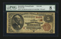 National Bank Notes:Pennsylvania, Sewickley, PA - $5 1882 Brown Back Fr. 471 The First NB Ch. # (E)4462. ...