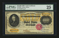 Large Size:Gold Certificates, Fr. 1225h $10000 1900 Gold Certificate PMG Very Fine 25.. ...