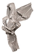 Sculpture, LYNDA BENGLIS (American, b. 1941). Megisti II, 1984. Bronze mesh and aluminum. 77 x 53 x 18 inches (195.6 x 134.6 x 45.7...