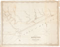 "Miscellaneous:Maps, Map: Plan of Matagorda and Lavaca Bay, by Fisher AmesFisher, 22.5"" x 17.5"", ca. 1840s. The map is accompani...(Total: 2 Items)"