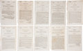 Books:Pamphlets & Tracts, [Texas Annexation] Archive of Ten State Resolutions Favoring theAnnexation of Texas, 1838-1845.... (Total: 10 Items)