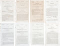 Books:Pamphlets & Tracts, [Texas and the Slave Issue] Archive of Eight CongressionalResolutions Regarding Slavery and Texas including:...(Total: 8 Items)