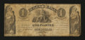 Canadian Currency: , La Prairie, LC- Henry's Bank at Montreal Branch $1 June 19, 1837Ch. # 357-12-02. ...