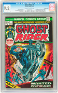 Bronze Age (1970-1979):Horror, Ghost Rider #1 Western Penn pedigree (Marvel, 1973) CGC NM- 9.2Off-white to white pages....