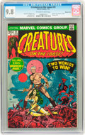 Bronze Age (1970-1979):Horror, Creatures on the Loose #21 Western Penn pedigree (Marvel, 1973) CGCNM/MT 9.8 Off-white to white pages....