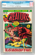 Bronze Age (1970-1979):Horror, Creatures on the Loose #19 Western Penn pedigree (Marvel, 1972) CGCNM+ 9.6 Off-white to white pages....