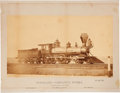 Transportation:Railroad, Northern Pacific Locomotive Mounted Photo....