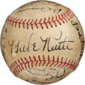 Autographs:Baseballs, 1938 Babe Ruth, Joe DiMaggio & More Signed Baseball....