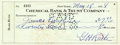 Autographs:Checks, 1938 Babe Ruth Signed Check....