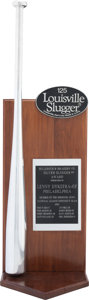 Baseball Collectibles:Others, 1993 Lenny Dykstra Silver Slugger Award....