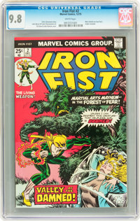 Iron Fist #2 (Marvel, 1975) CGC NM/MT 9.8 White pages
