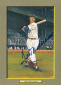 Autographs:Post Cards, Ted Williams Signed Perez Steele Greatest Moments Postcard....